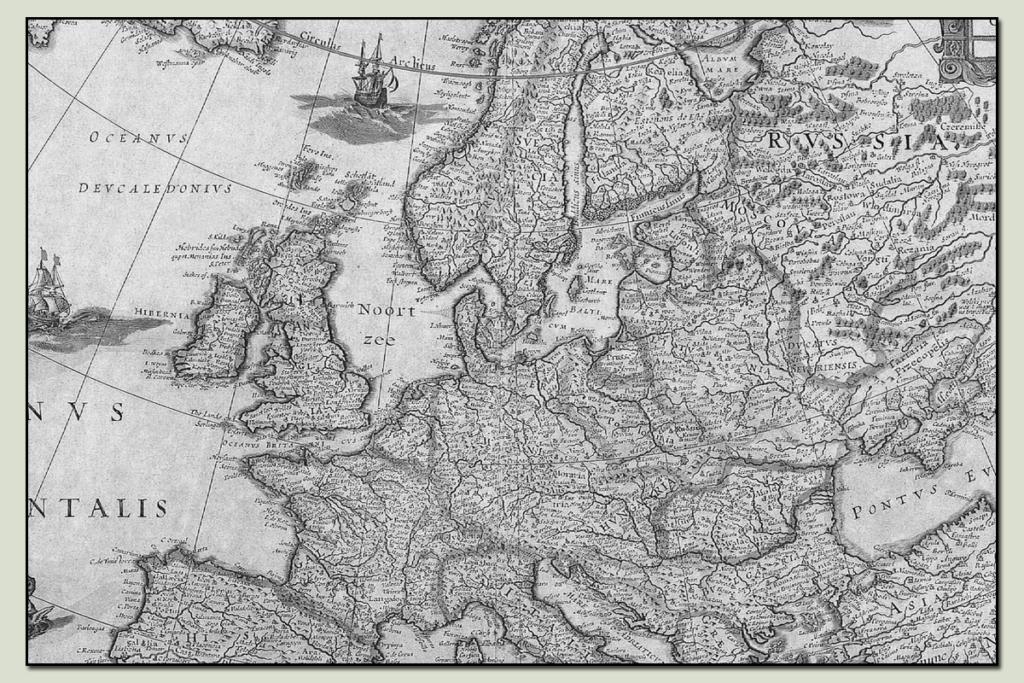 continental area header